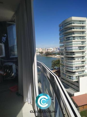 Belíssimo Apartamento 02 Quartos, Totalmente Mobiliado, na Praia do Morro! - Foto 6