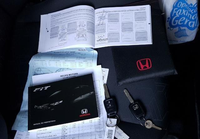 Honda Fit LX único dono todas revisões na Honda apenas 30mil km - Foto 13