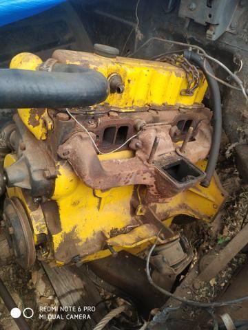 Motor 4cilindros alcool opala caravan - Foto 5
