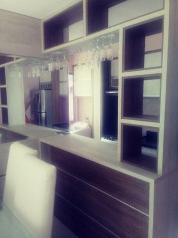 Apartamento Semi Mobiliado no Condomínio Villa Jardim Orquídea 3 Qts - Foto 11