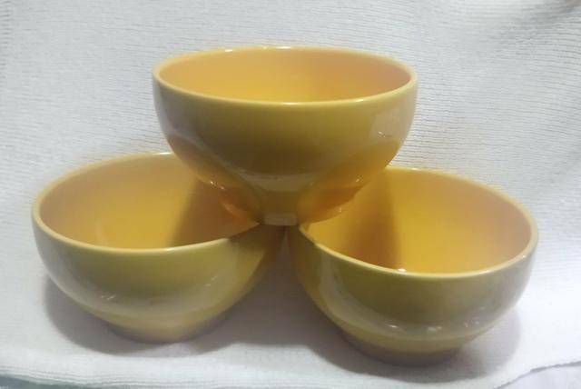 Tigela Bowl 600ml amarela