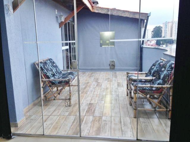 Cobertura à venda, 130 m² por r$ 650.000 - santa maria - são caetano do sul/sp - Foto 9