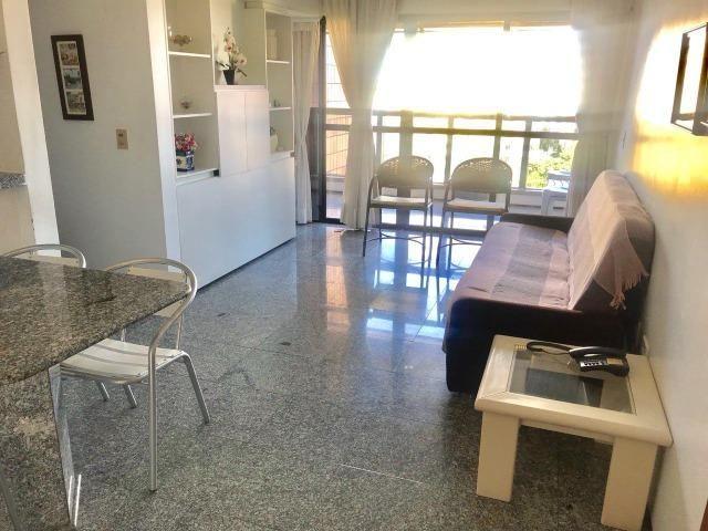 (ELI47936) Flat na Beira Mar, 48m², 1 Suíte, Todo Mobiliado - Foto 3