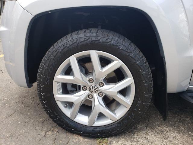 VW- amarok v6 Highline 3.0 4x4 18/18 aut. diesel prata - Foto 14