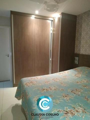 Belíssimo Apartamento 02 Quartos, Totalmente Mobiliado, na Praia do Morro! - Foto 8