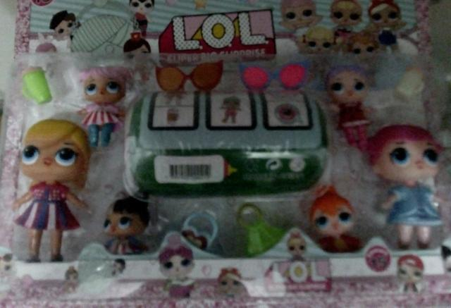 Lol com 6 bonecas - Foto 3