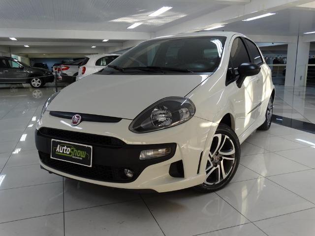 Fiat Punto Blackmotion 1.8 Flex Automático Branco