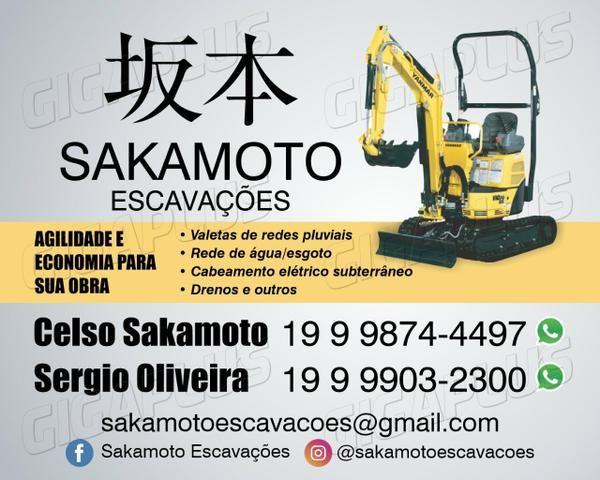 Sakamoto escavações