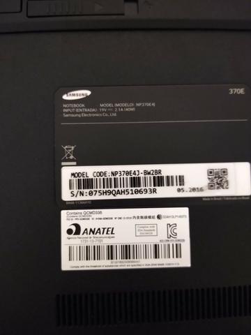 Notebook Samsung Essentials E22 4gb/hd, 500 gb, 14''HD, Windows 10
