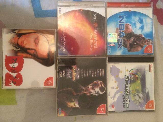 Lote de Jogos Dreamcast japoneses