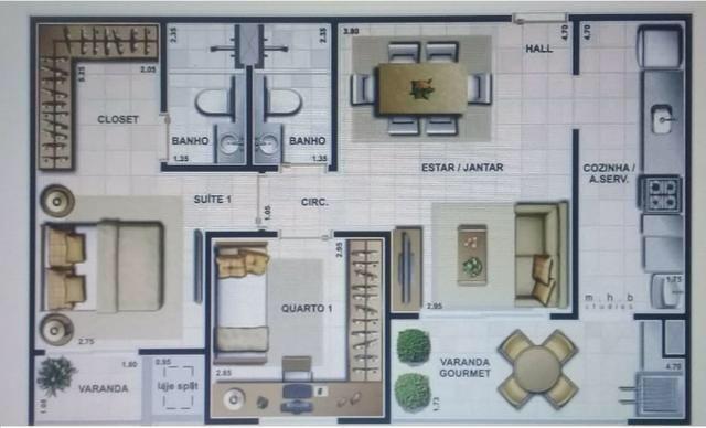 Lindo Apartamento no Renascença - Foto 9