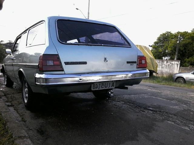 Caravan comodoro 4cc álcool ano 1982 câmbio 4marchas - Foto 2