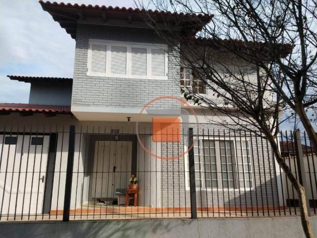 Casa com 3 dormitórios à venda, 276 m² por - bela vista - gravataí/rs