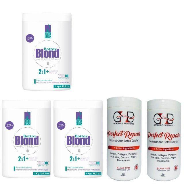 Combo 3 Botox Blond +2botox Perfect Repair
