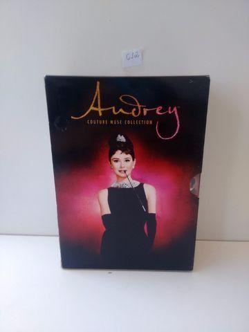Box Dvd Coleção Audrey - Couture Muse Collection - 8 discos - 7 filmes