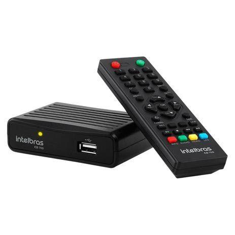 Gravador E Conversor Digital Para Tv Hdmi Controle Intelbras - Foto 2