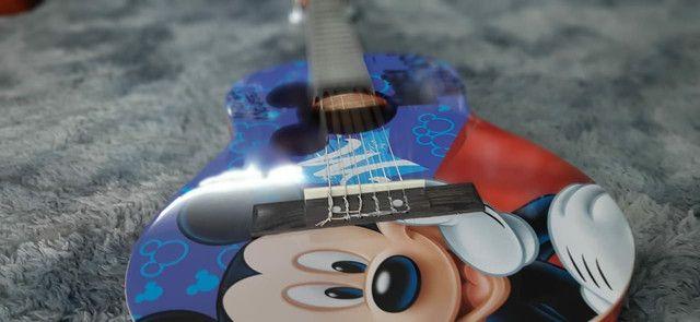 Violão infantil Mickey - Foto 4