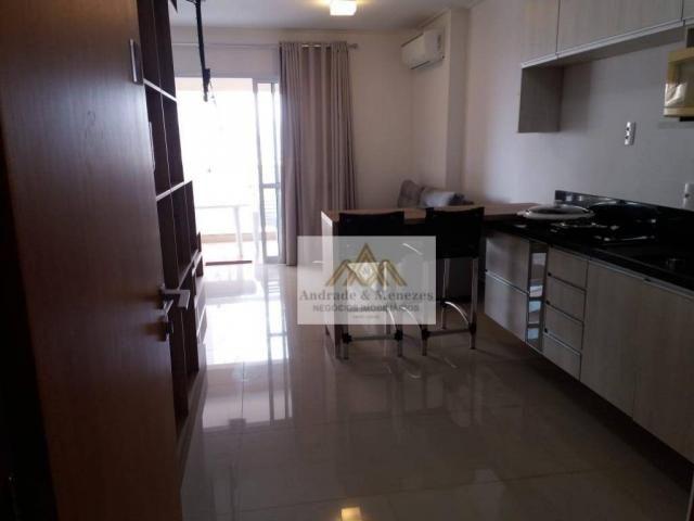 Kitnet com 1 dormitório para alugar, 44 m² por R$ 1.500,00/mês - Bosque das Juritis - Ribe - Foto 2