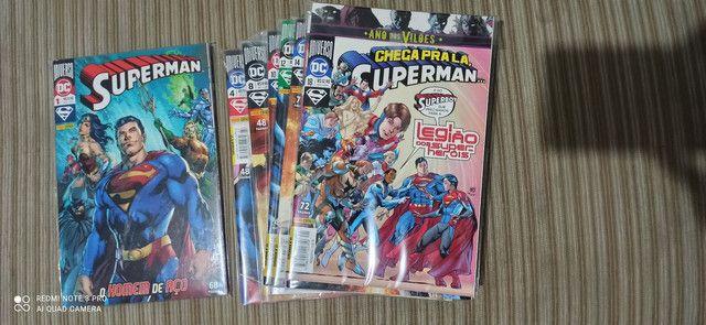 Superman HQs 1-18 + evento leviatã 1 e 2