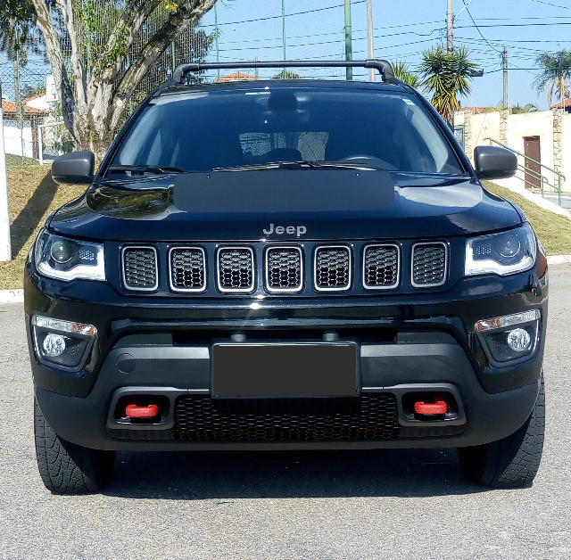 Jeep Compass Trailhawk 2.0 16v Turbo Díesel Aut 4X4 2018 Ùnico dono - Foto 2