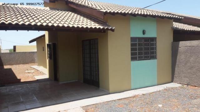 Casa para Venda em Várzea Grande, Colinas Verdejantes, 2 dormitórios, 1 banheiro
