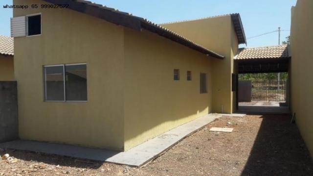 Casa para Venda em Várzea Grande, Colinas Verdejantes, 2 dormitórios, 1 banheiro - Foto 2
