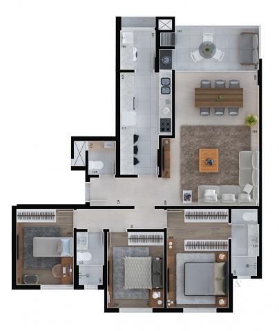 Apartamento residencial para venda, Cristo Rei, Curitiba - AP6996. - Foto 12