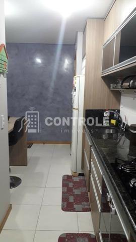 (W) Apartamento 02 dormitórios semi-mobiliado, em Jardim cidade, São José.
