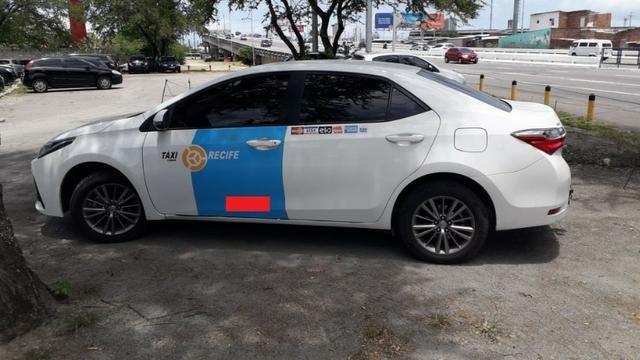 Taxi Corola 2018 com praça transferível - Foto 2