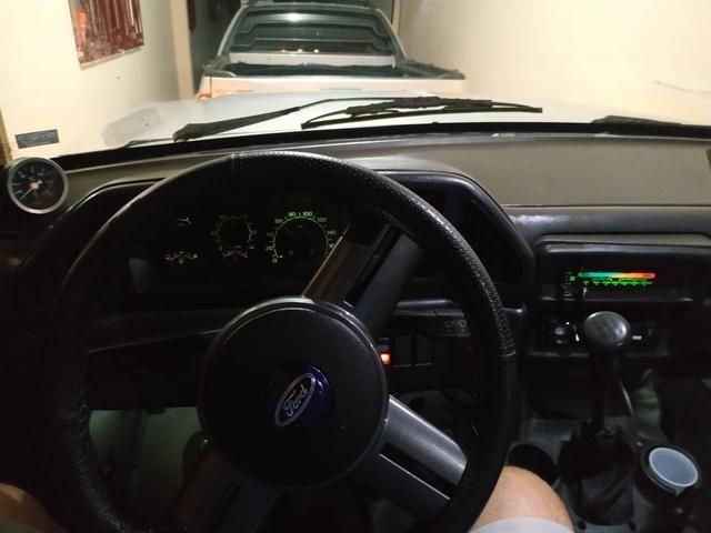 F1000 estendida p/6 pessoas diesel com ar, vidro trava alarme direção hidráulica. - Foto 9