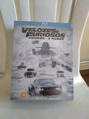 Box Blu Ray Velozes e Furiosos - 8 filmes