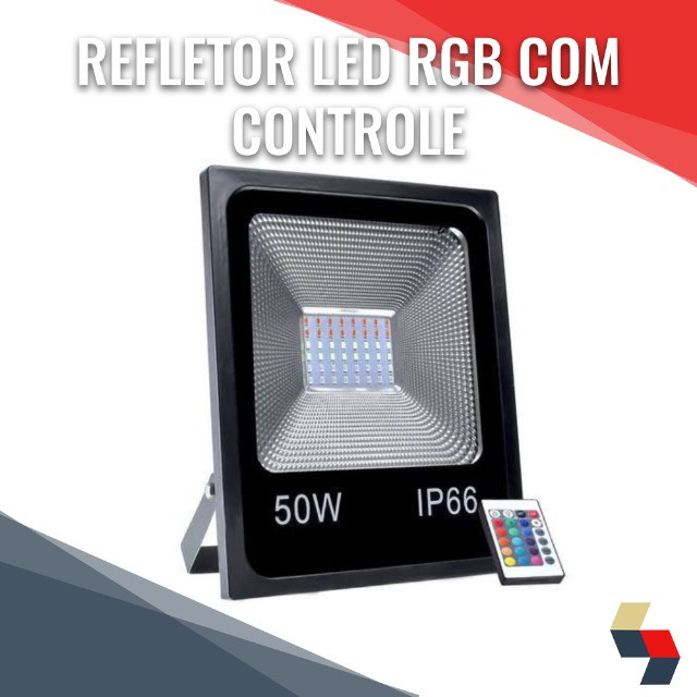 Refletor Rgb Led 30w