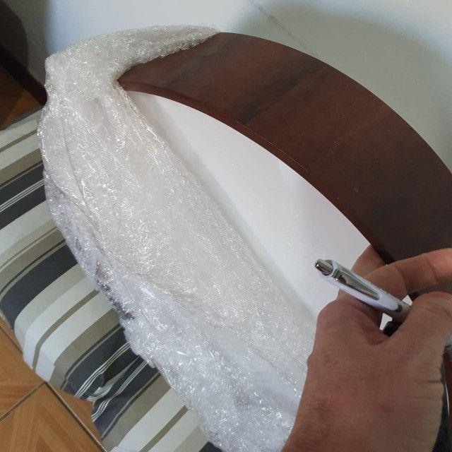 Luminária Plafon de sobrepor em Madeira Cilíndrico Accord