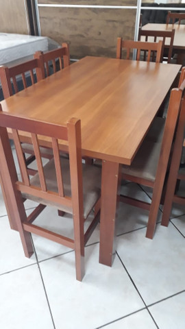 Mesa com 6 cadeiras - Foto 2