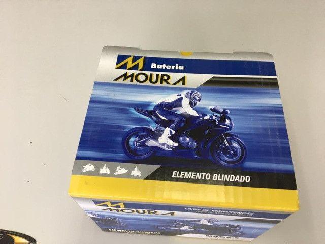 bateria moura ma8,6-e hornet r1 cb1000 entrega todo rio - Foto 2