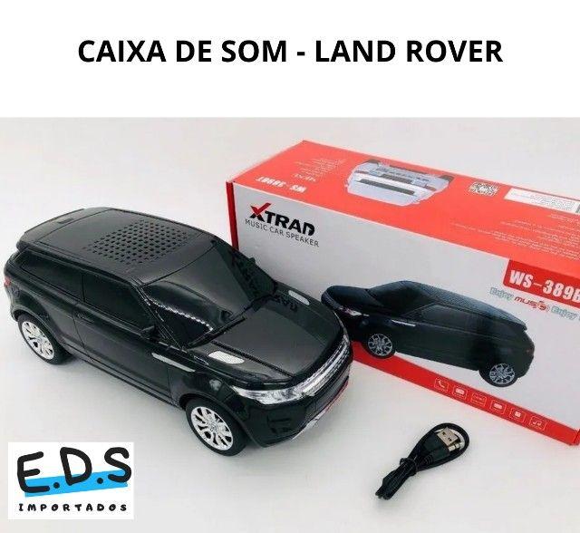 Caixa de Som Land Rover, Bluetooth, Rádio FM AM, USB, Recarregável, som potente! - Foto 3