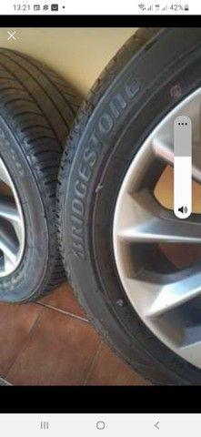 Jogo de roda com os pneus zerado  - Foto 3