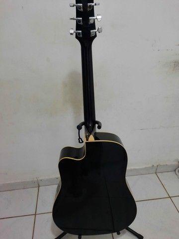 Violão barato - Aço- Crafter conservado - 400,00 - Foto 4