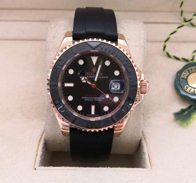 Relógio masculino Modelo Rolex Yacht-Master Premium AAA