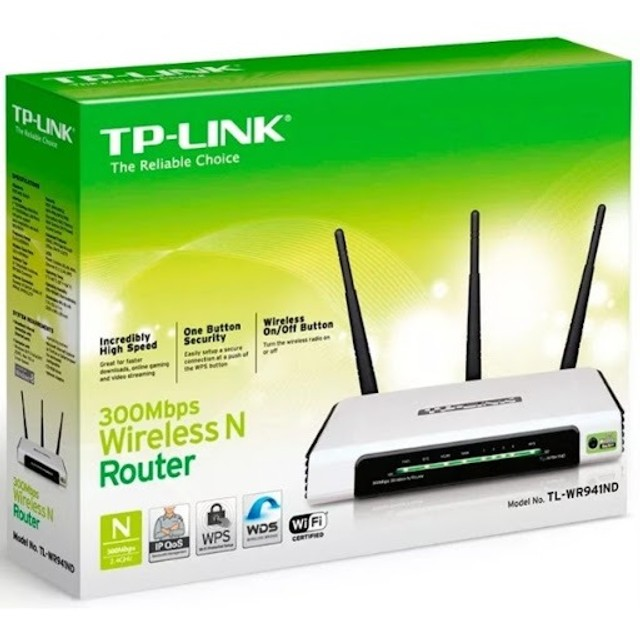 TP-Link TL-WR941 ND - Roteador Wireless N 300Mbps
