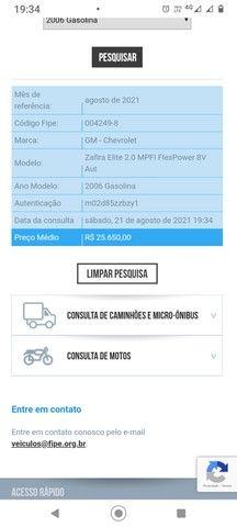 Zafira Elite com kit GNV geração 5 legalizado - Foto 12