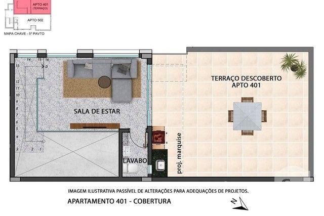 Apartamento à venda com 2 dormitórios em Anchieta, Belo horizonte cod:280097 - Foto 4