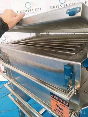 Misturador Horizontal de Pós Ribbon BLender 500 litros/kg Industrial  - Foto 6