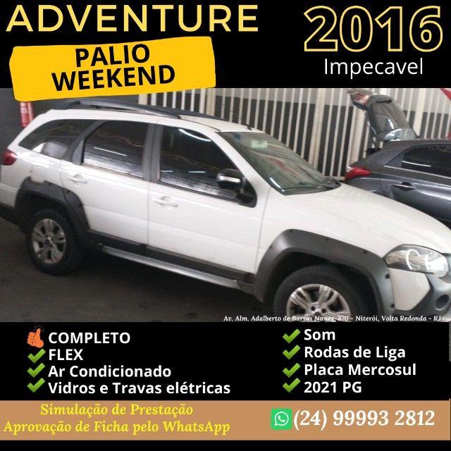 Palio Weekend Adventure 2016 GNV - Duas opçoes lindas - Foto 7