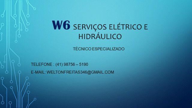 W6 Serviços elétrico e Hidráulico - Foto 2