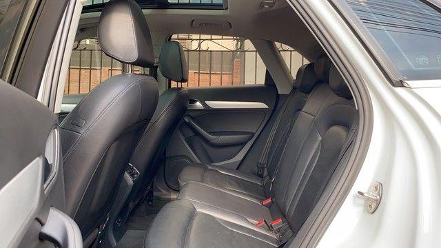 Audi Q3 2.0 TFSI COM TETO 2016 IMPECÁVEL!! - Foto 6