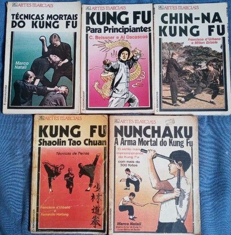 Livros artes marciais - Kung Fu