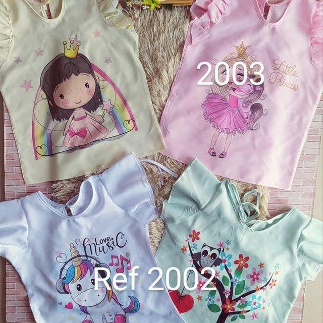 blusa infantil  por encomenda  - Foto 3