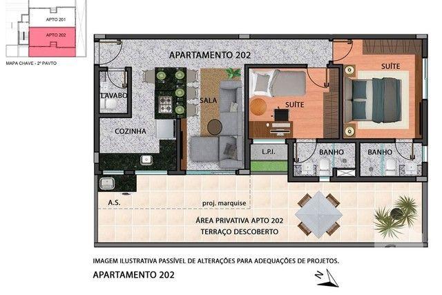 Apartamento à venda com 2 dormitórios em Anchieta, Belo horizonte cod:280097 - Foto 7