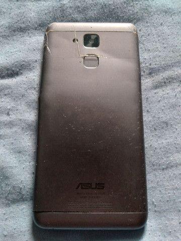 Celular asus modelo ZC520TL TELA QUEBRADA   - Foto 2